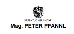 Logo Notar Mag. Peter Pfannl