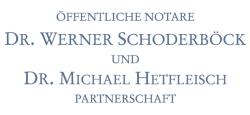 Logo Öffentliche Notare Dr. Werner Schoderböck & Dr. Michael Hetfleisch